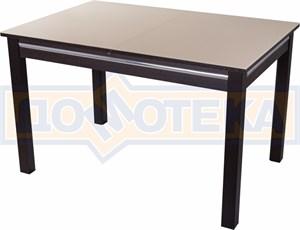 Стол со стеклом - Вальс-1 ВН ст-КР 08 ВН, венге