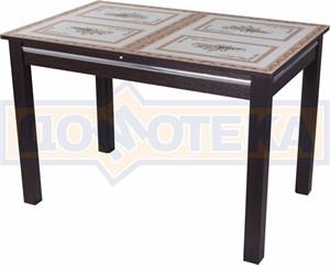Стол со стеклом - Вальс-1 ВН ст-72 08 ВН, венге