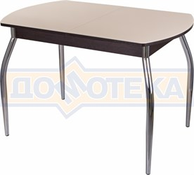 Стол со стеклом - Танго ПО-1 ВН ст-КР 01 ,венге
