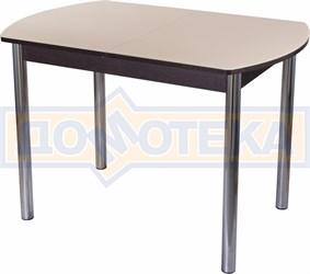 Стол со стеклом - Танго ПО-1 ВН ст-КР 02 ,венге