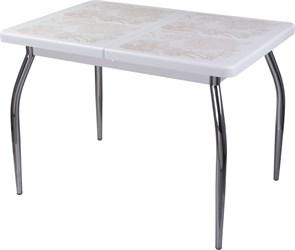 Стол с плиткой - Каппа ПР ВП БЛ 01 пл 32 ,белый