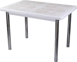 Стол с плиткой - Каппа ПР ВП БЛ 02 пл 32 ,белый