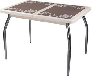 Стол с плиткой - Каппа ПР ВП КР 01 пл 44 ,крем