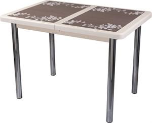 Стол с плиткой - Каппа ПР ВП КР 02 пл 44 ,крем