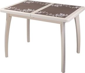 Стол с плиткой - Каппа ПР ВП КР 07 ВП КР пл 44 ,крем