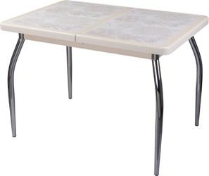Стол с плиткой - Каппа ПР ВП КР 01 пл 32 ,крем