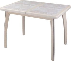 Стол с плиткой - Каппа ПР ВП КР 07 ВП КР пл 32 ,крем