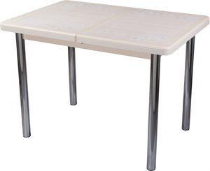 Стол с плиткой - Каппа ПР ВП КР 02 пл 42 ,крем