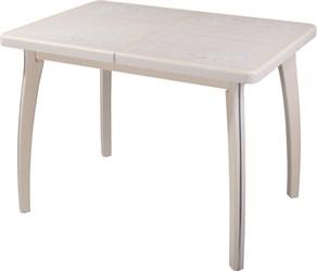 Стол с плиткой - Каппа ПР ВП КР 07 ВП КР пл 42 ,крем
