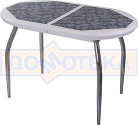 Стол кухонный с плиткой Шарди О БЛ пл 09 01