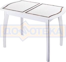 Стол кухонный с мозаикой Толедо ПО МЗ БС 07 ВП БЛ