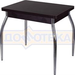 Стол кухонный Дрезден М-2 ВН 01 венге, ножки хром