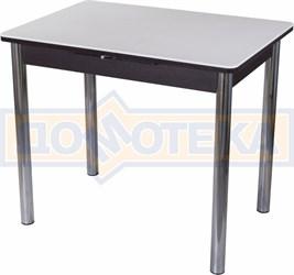 Стол с камнем Румба ПР-М 04 ВН 02, венге/камень белого цвета