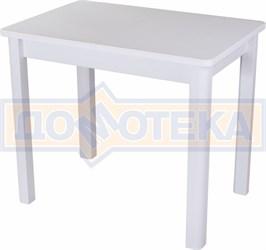 Стол с камнем Румба ПР-М 04 БЛ 04 БЛ, белый/камень белого цвета