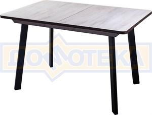 Стол Джаз ПР-1 ДБ/ВН 93 ЧР (Дуб беленый, ножки металл)