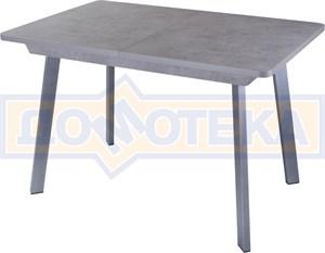 Стол Джаз ПР-1 СБ/СБ 93 СР (Серый бетон, ножки металл)