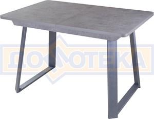 Стол Джаз ПР-1 СБ/СБ (Серый бетон) 91-1 СР