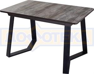 Стол Джаз ПР-1 ОТ/ВН 92-1 ЧР (Орех темный, ножки металл)