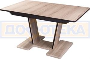 Стол из ЛДСП Джаз ПР-2 ОС/ОС 03-2 ОС (орех светлый)