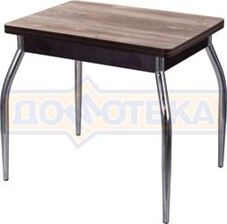Кухонный стол из ЛДСП Дрезден М-2 ОТ/ВН 01 (Орех темный)